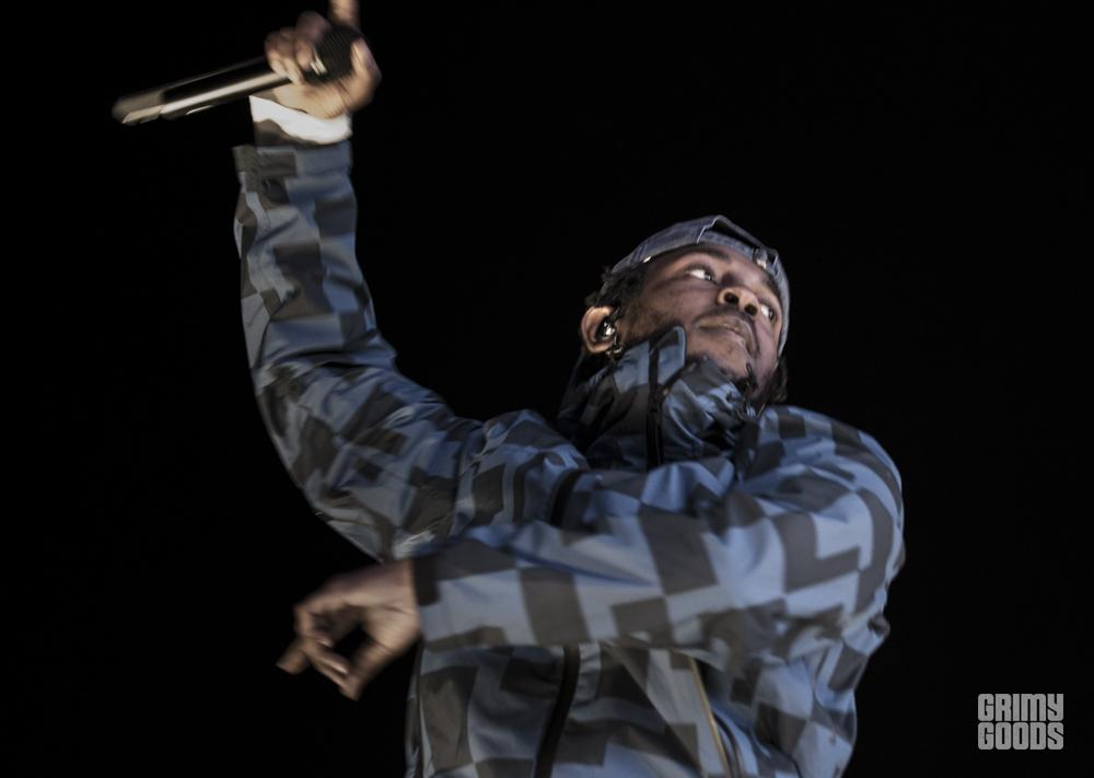 Kendrick Lamar, Air + Style at the Rose Bowl, photo by Wes Marsala