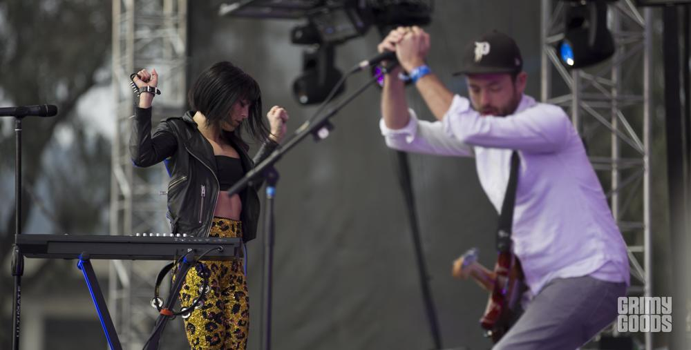 Phantogram, Air + Style at the Rose Bowl, photo by Wes Marsala