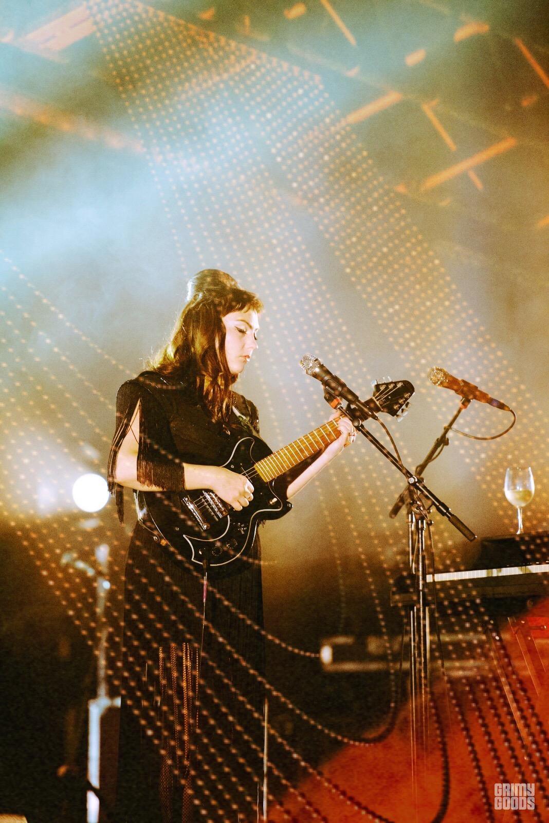 Angel Olsen at the Palace Theatre shot by Danielle Gornbein