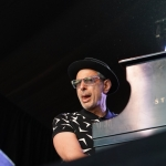 Jeff Goldblum and the Mildred Snitzer Orchestra at Arroyo Seco Weekend by Steven Ward