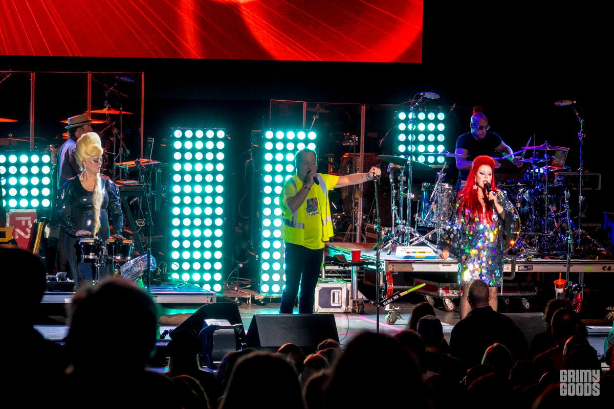 B52s at the Greek Theatre LA -- Photo: ZB Images