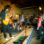 Speed of Light at Bands in a Barbershop photo by ZB Images