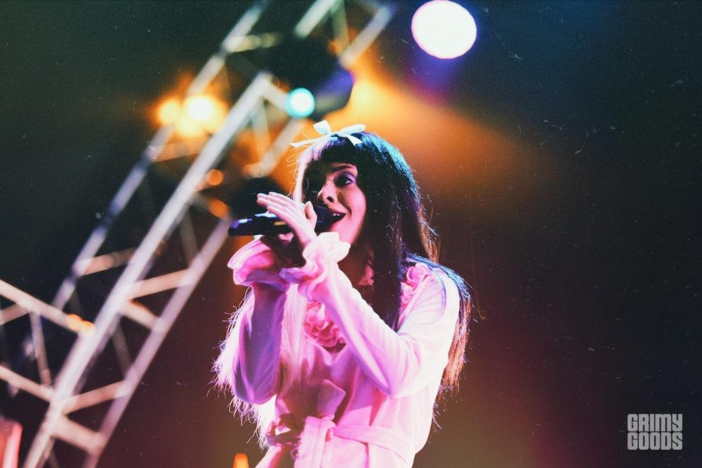 Melanie Martinez at Beach Goth V by Steven Ward