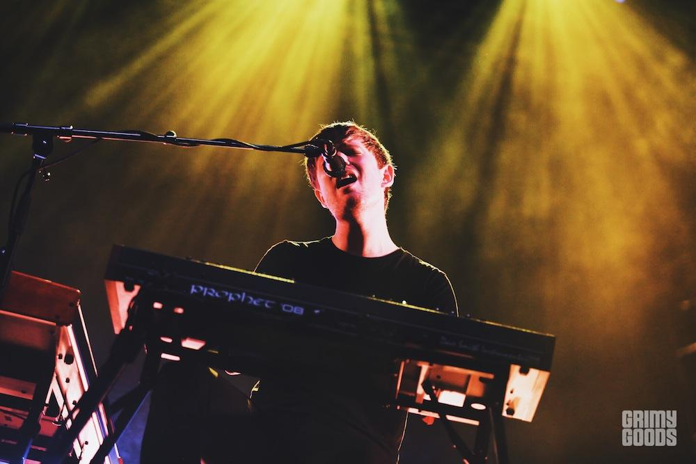 James Blake at Beach Goth V by Steven Ward