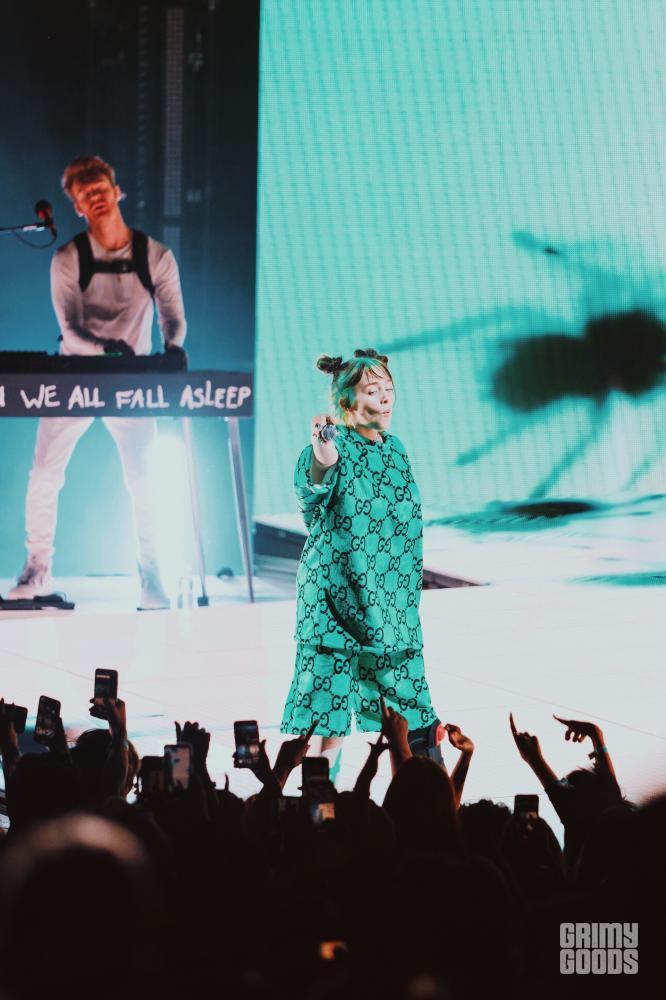 Billie Eilish at the Greek Theatre — Photo: Steven Ward
