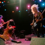 Thunder Pussy at the El Rey Theater photo by ZB Images