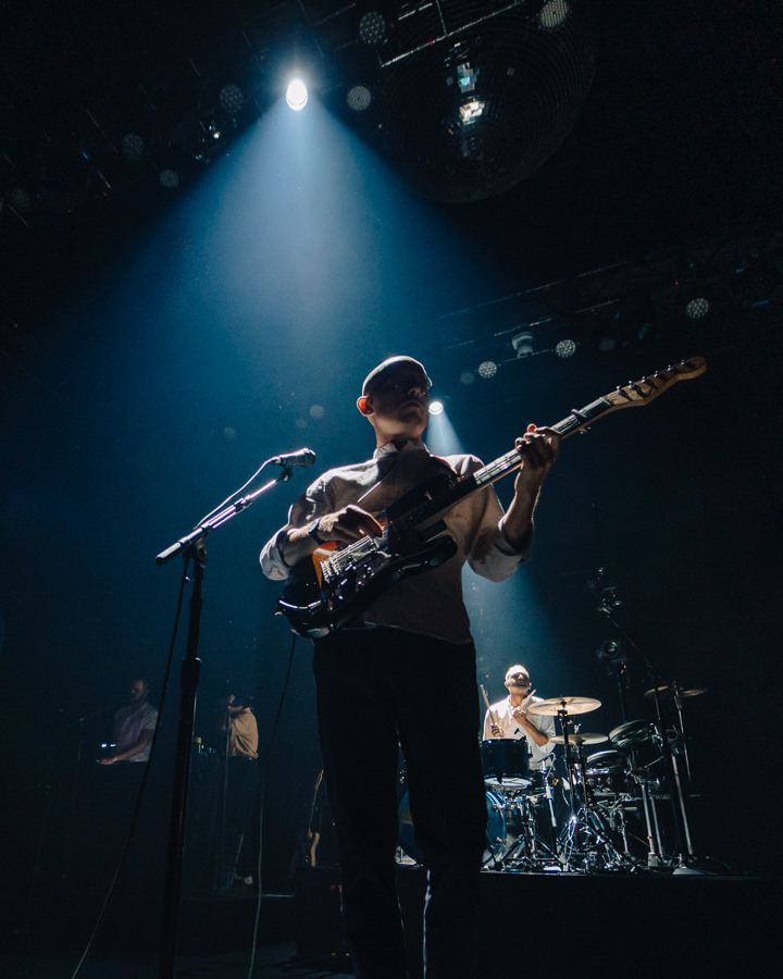 Bombay Bicycle Club at The Mayan - Photo by Kirby Gladstein