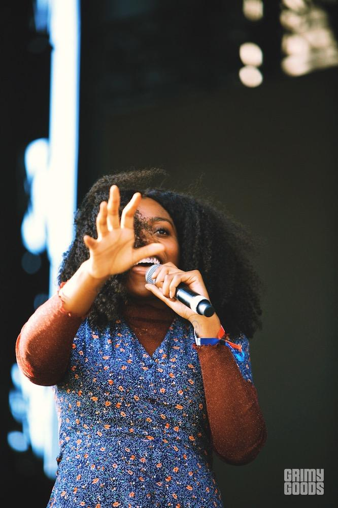 Noname at Boston Calling by Steven Ward