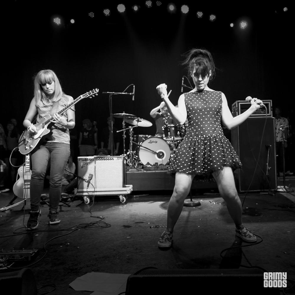 The Julie Ruin, Burger A-Go-Go, photo by Wes Marsala