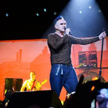 Morrissey at the Shrine Auditorium Photos