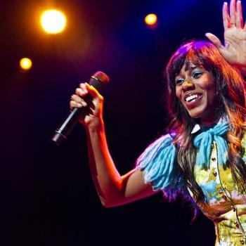 Santigold with Charli XCX and DJ Ivy – Photos – Club Nokia – June 1, 2012