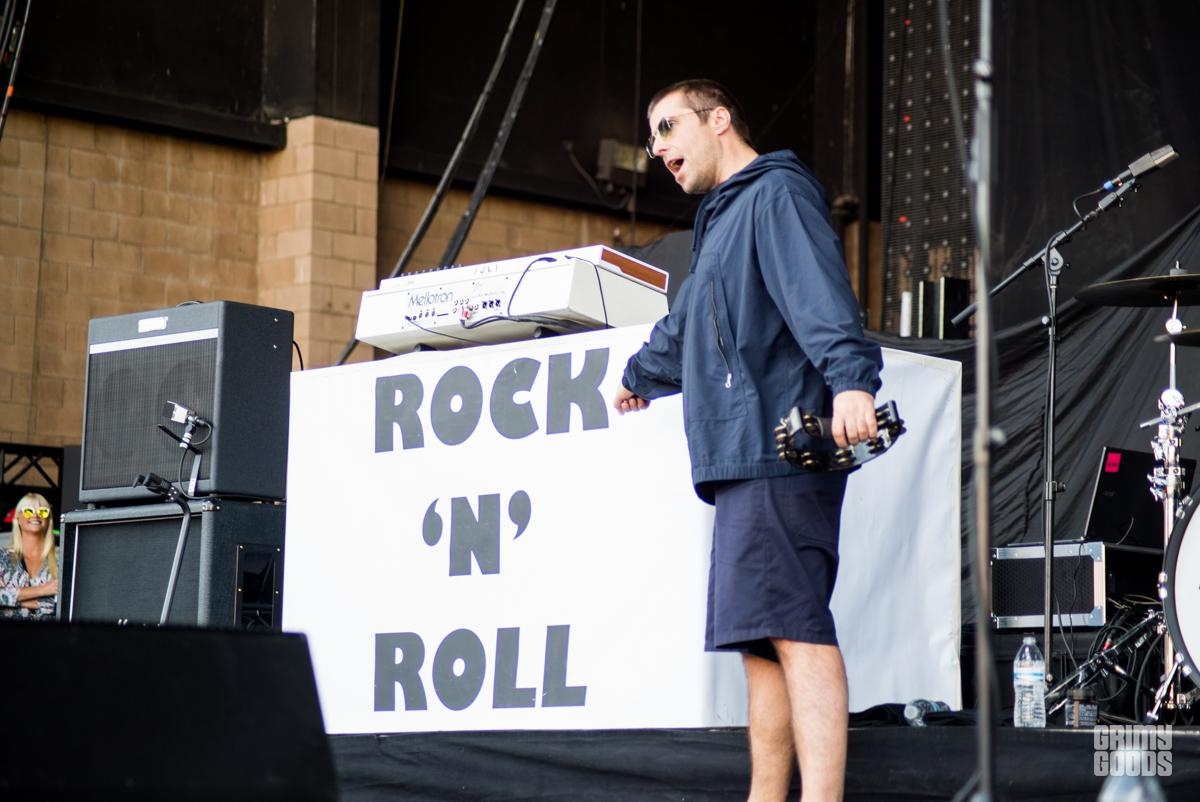 Liam Gallagher at Cal Jam -- Photo: ZB Images