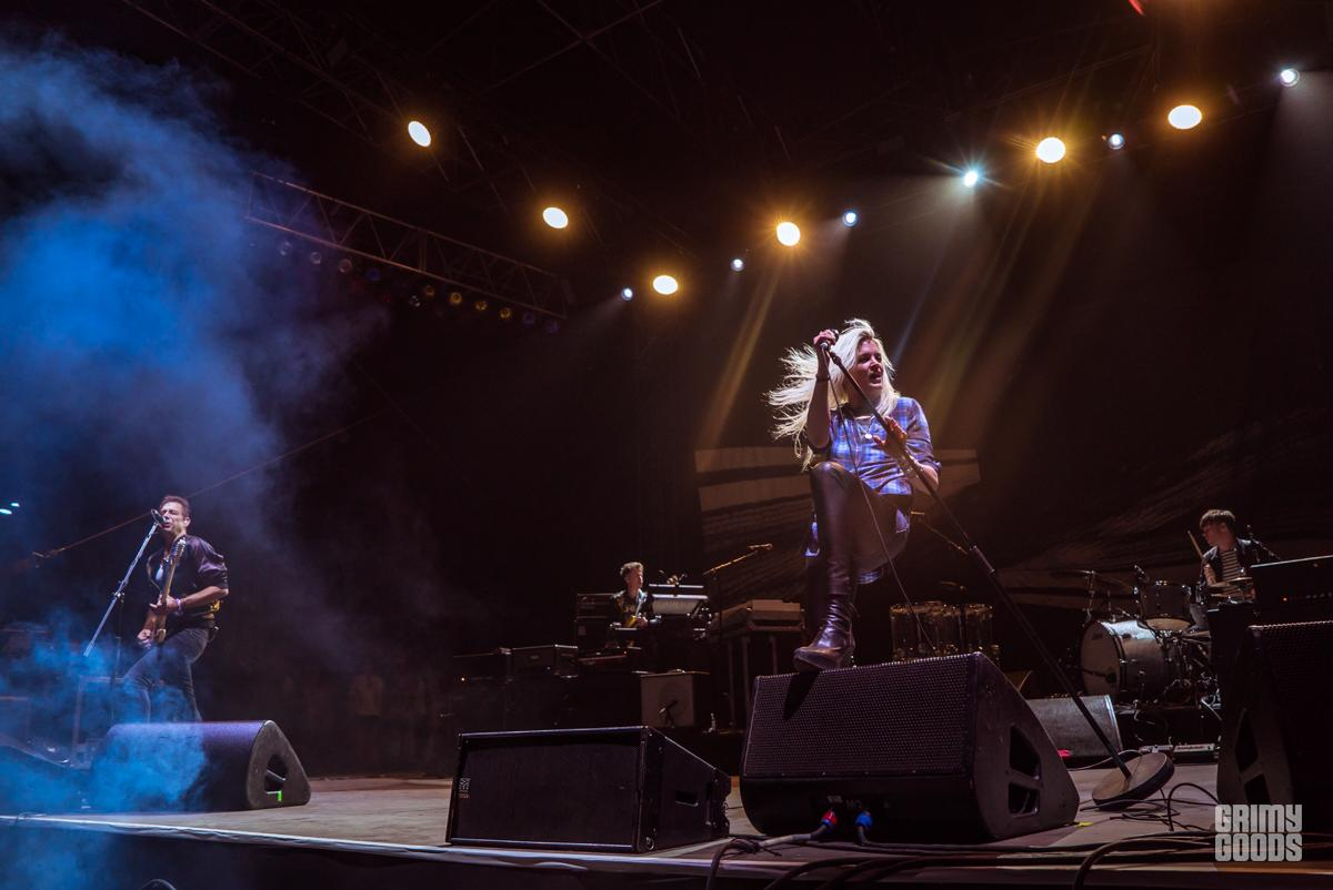 The Kills at Cal Jam -- Photo: ZB Images