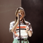 Koffee at the Greek Theatre shot by Danielle Gornbein