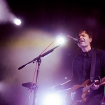 Death Cab For Cutie at the Hollywood Forever Cemetery shot by Danielle Gornbein