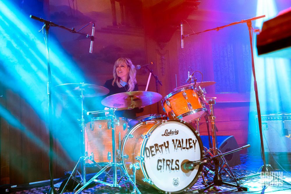 Death Valley Girls at The Lodge Room photo by ZB Images