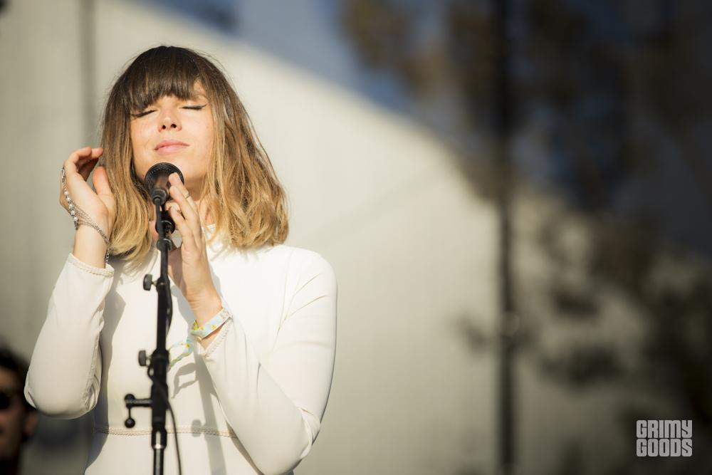 Melody's Echo Chamber, FYF Fest, photo by Wes Marsala