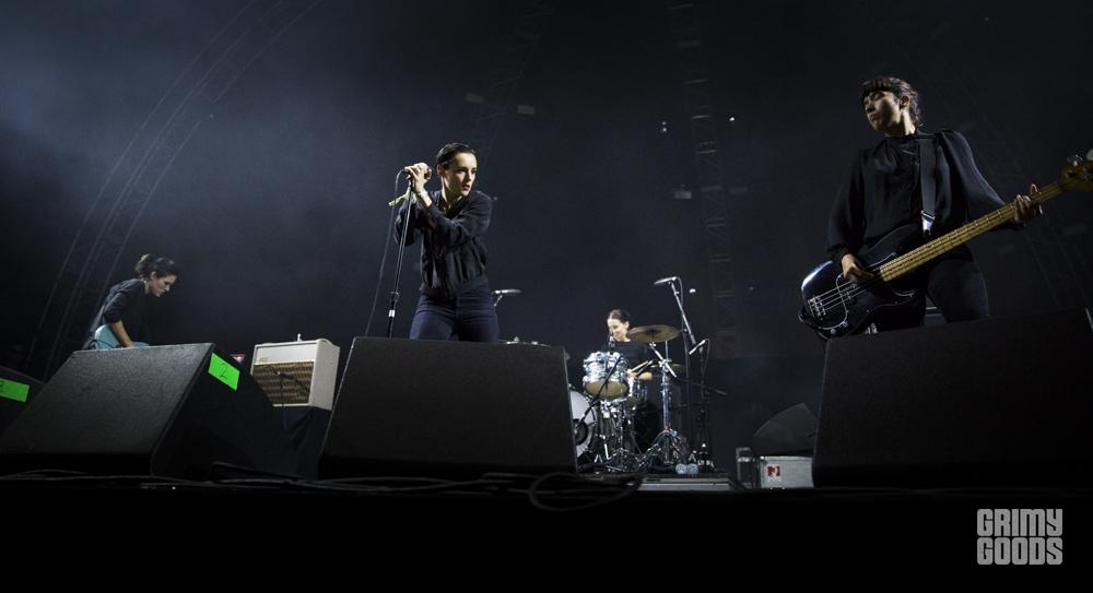 Savages, FYF Fest, photo by Wes Marsala