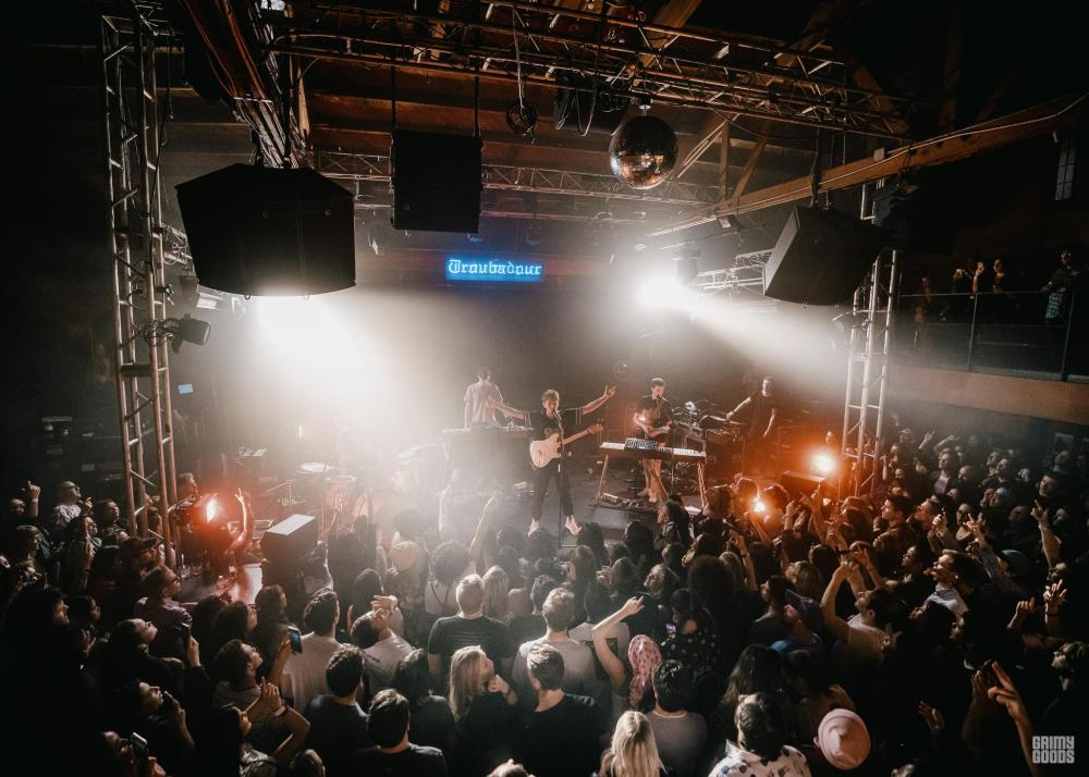 Glass Animals at the Troubadour - photo by Kirby Gladstein