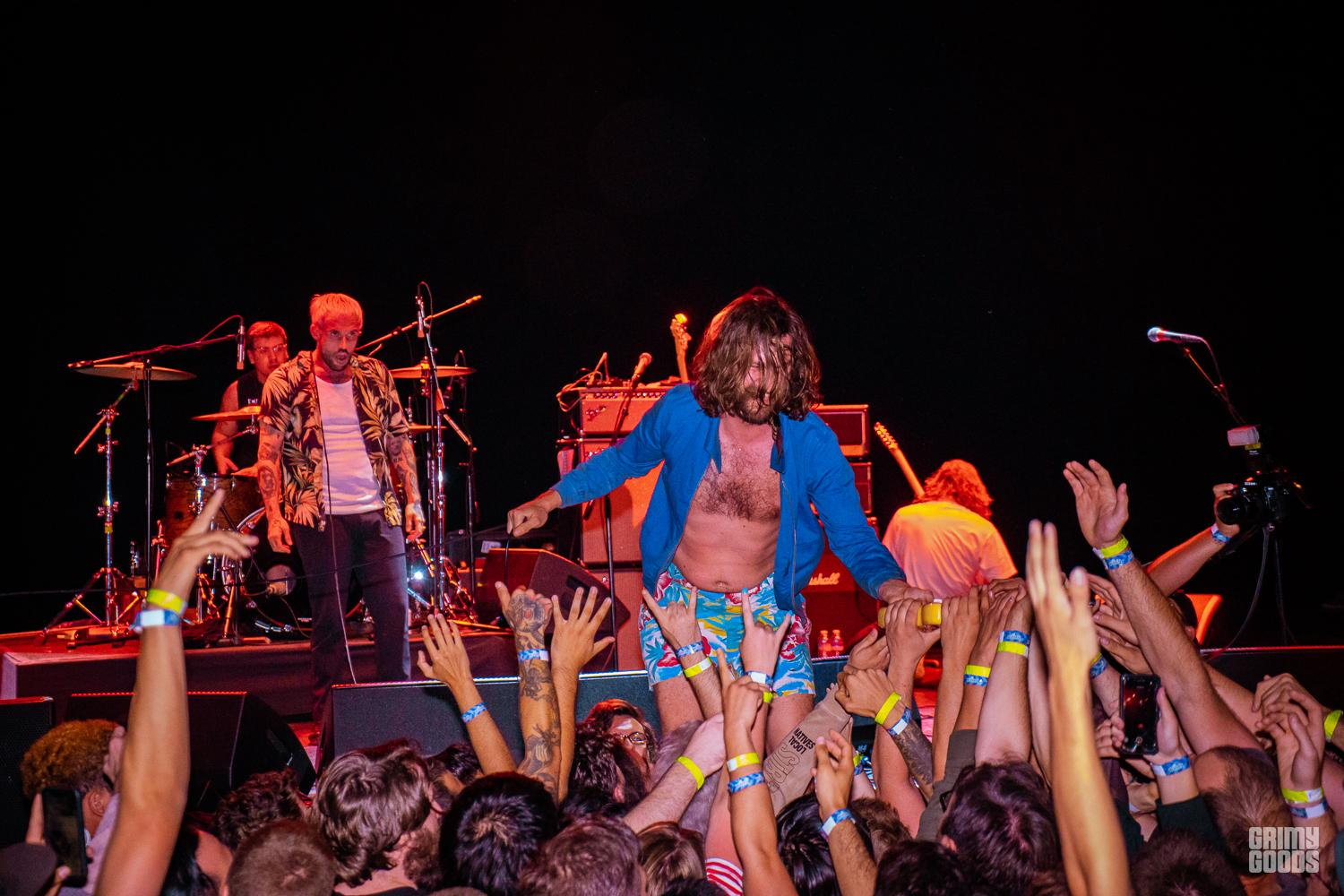 IDLES at the Wiltern -- Photo by ZB Images
