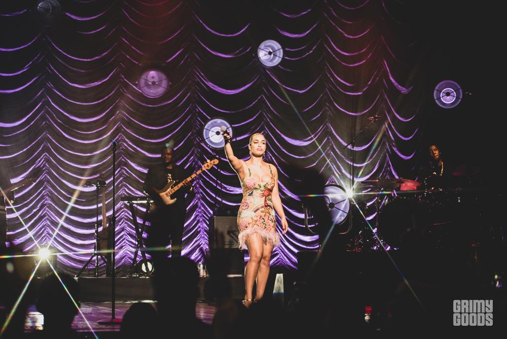 Jorja Smith at the Wiltern shot by Danielle Gornbein