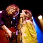Kyle Craft & Showboat Honey with Lauren Ruth Ward at the Moroccan Lounge shot by Danielle Gornbein