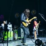 Khruangbin at the Greek Theatre shot by Danielle Gornbein