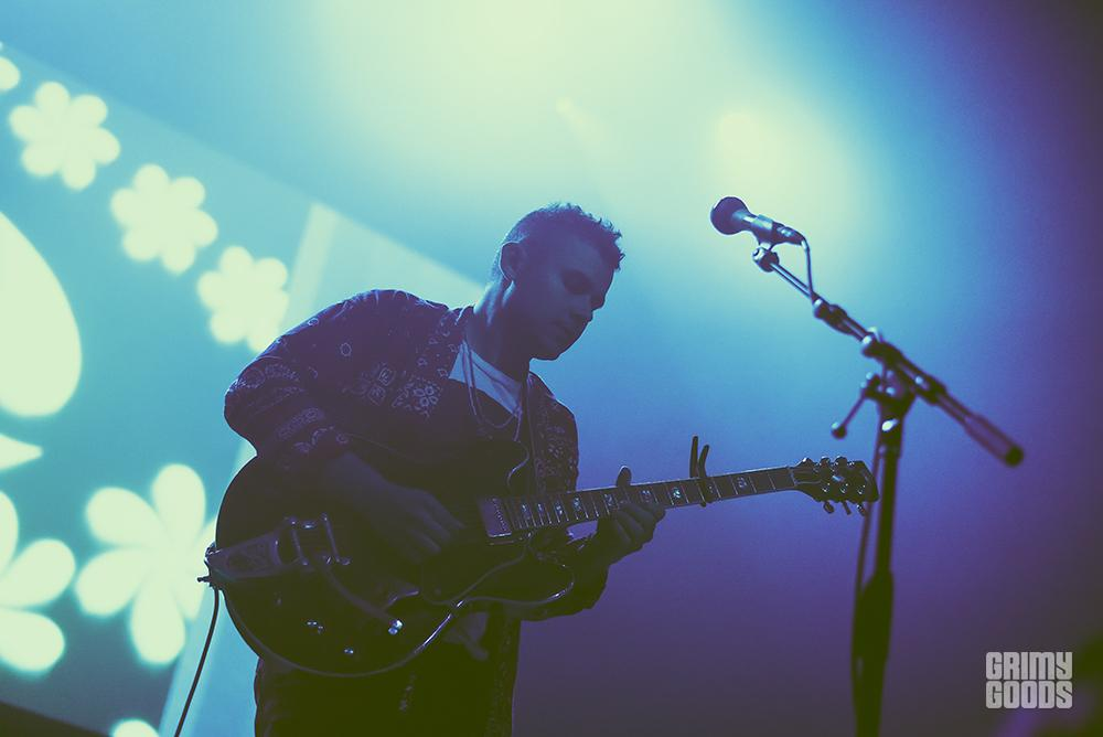 Rostam at the Fonda Theatre shot by Danielle Gornbein