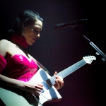 Annie Clark of St. Vincent, The Hollywood Palladium, photo by Wes Marsala