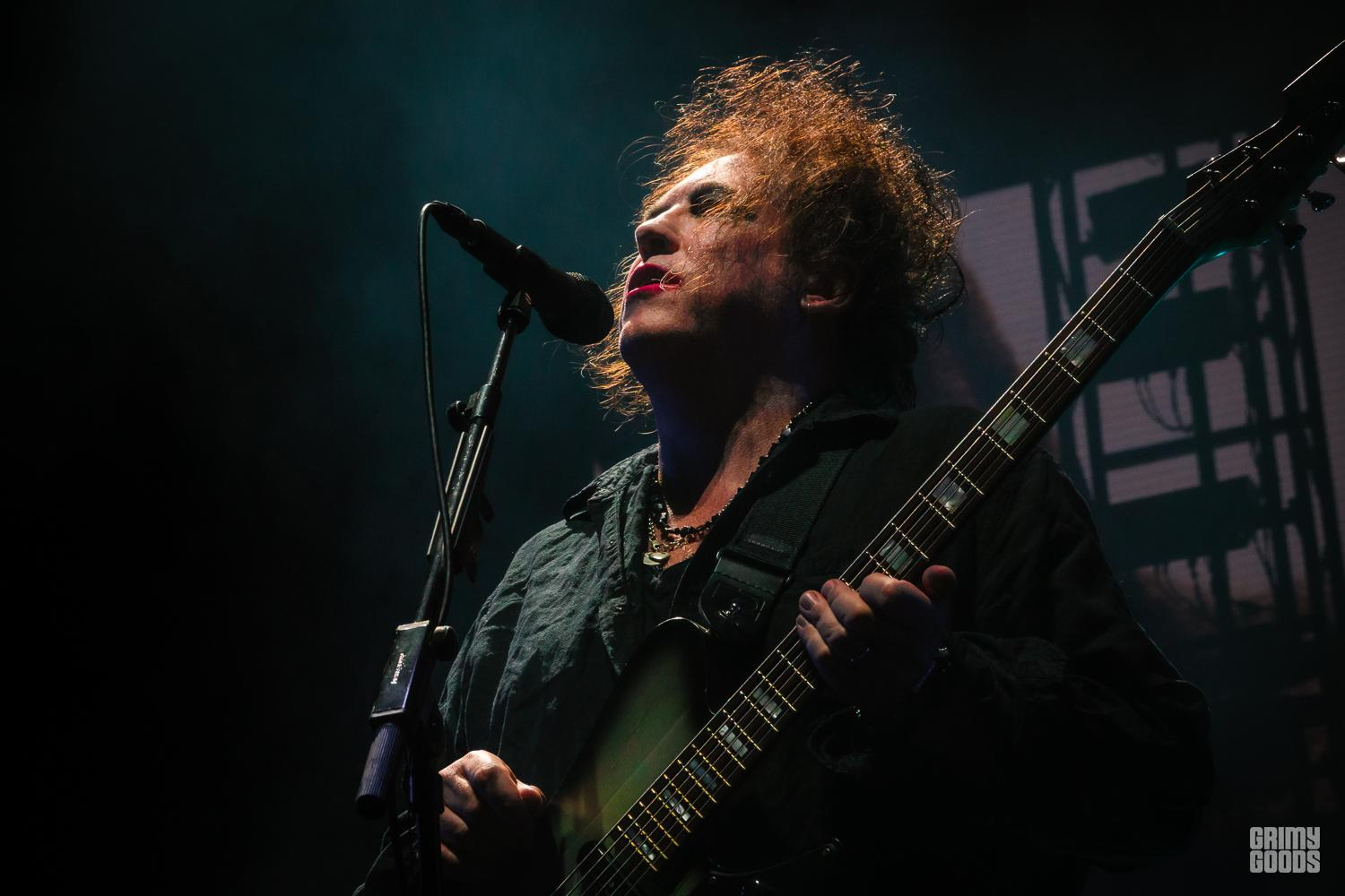 The Cure at Daydream Festival photo by ZB IMAGES