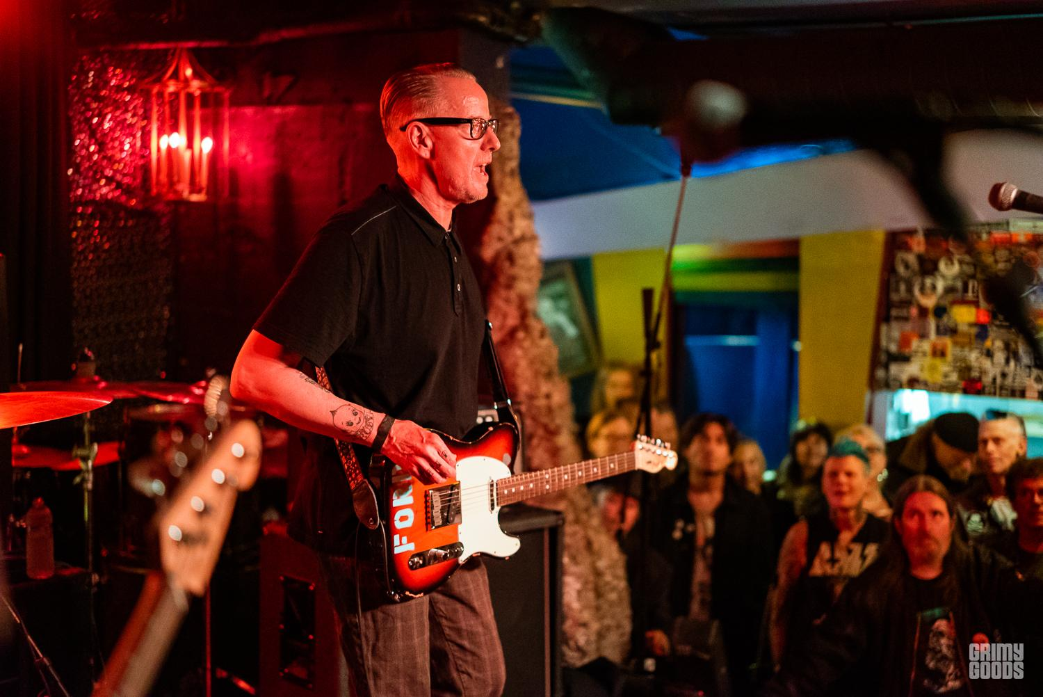 The Dils in San Francisco Photo By ZB Images