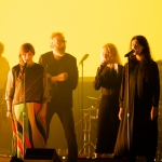 The National with Phoebe Bridgers, Kate Stables and Mina Tindle at the Orpheum Theatre shot by Danielle Gornbein