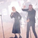 The National with Phoebe Bridgers at the Orpheum Theatre shot by Danielle Gornbein