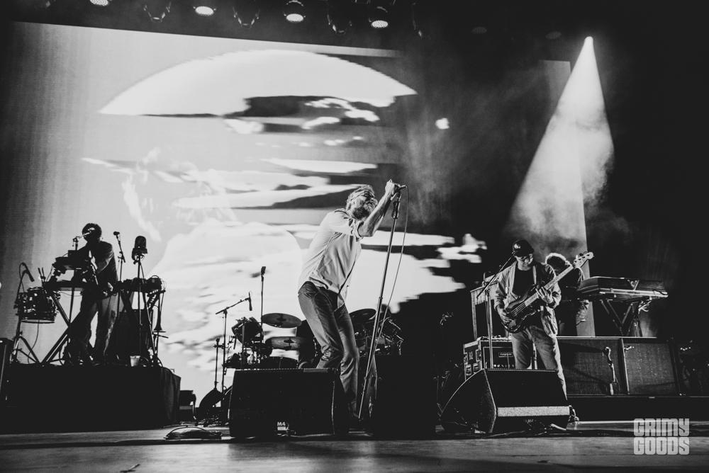 The National at the Santa Barbara Bowl shot by Danielle Gornbein