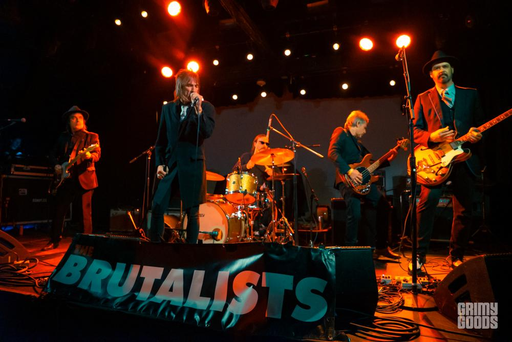 The brutalists at The Echoplex Photo by ZB Images