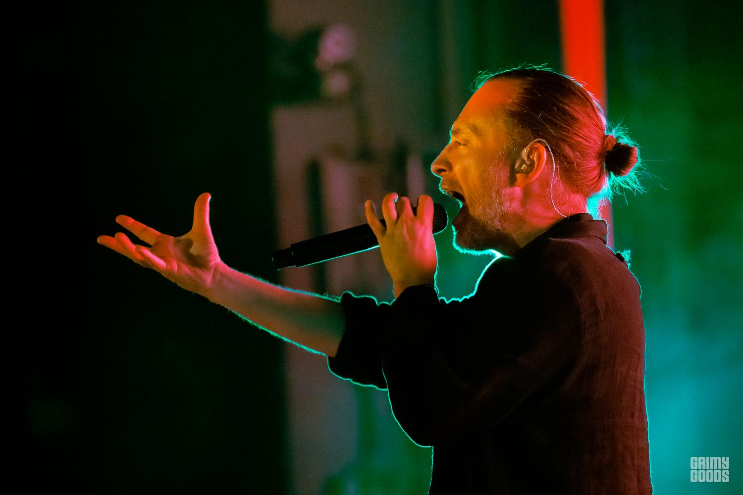 Thom Yorke at Greek Theatre L.A