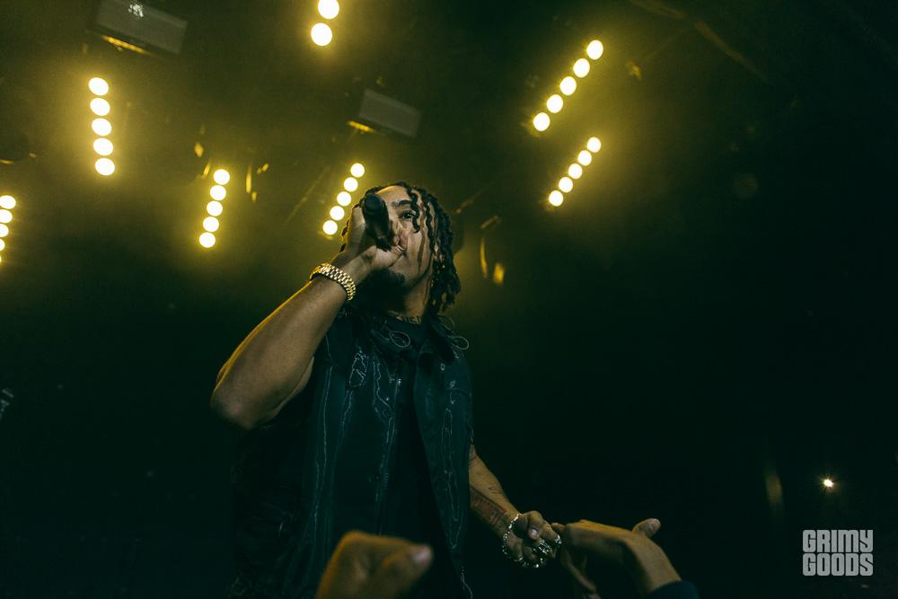 Vic Mensa at Teragram Ballroom -- Photo: Michael Espeleta