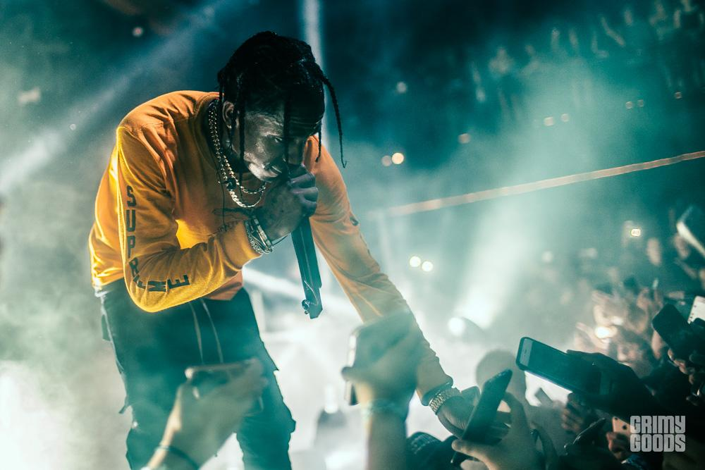 Travis Scott New Year\'s Eve at Observatory