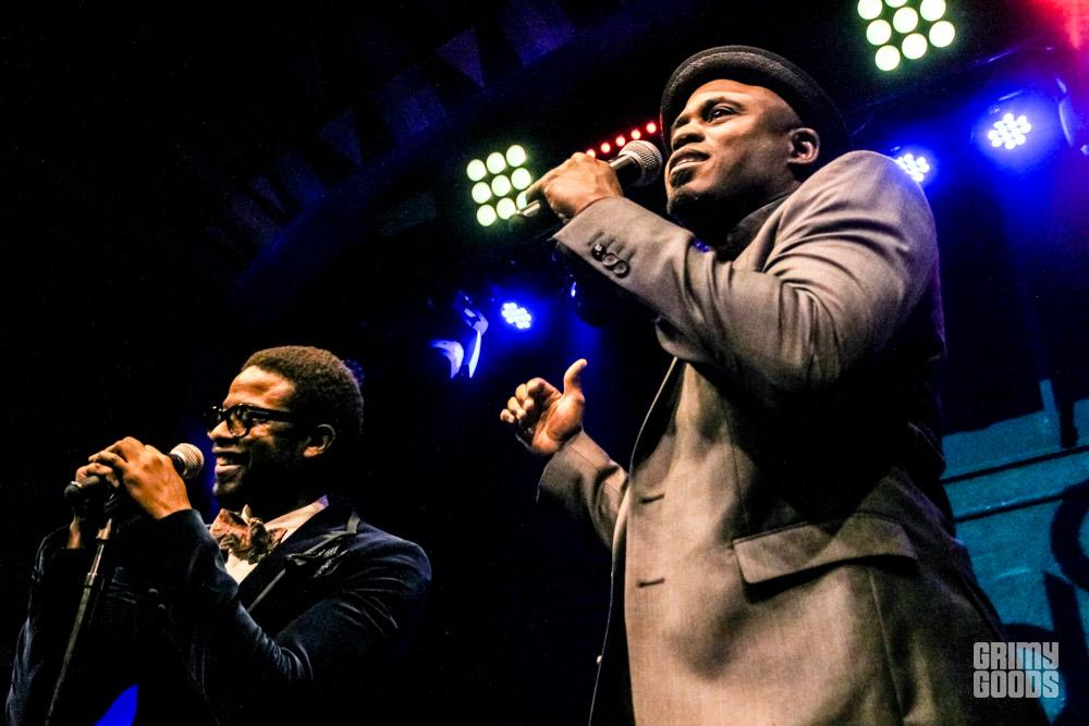 Adrian Younge with Wayne Brady