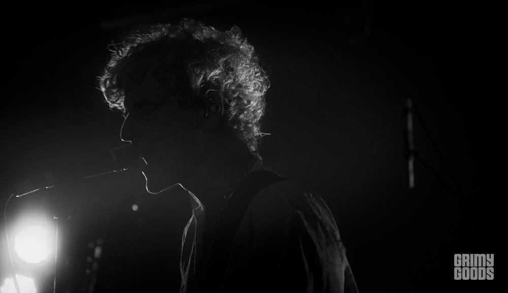 Amedeo Pace of Blonde Redhead, photo by Wes Marsala