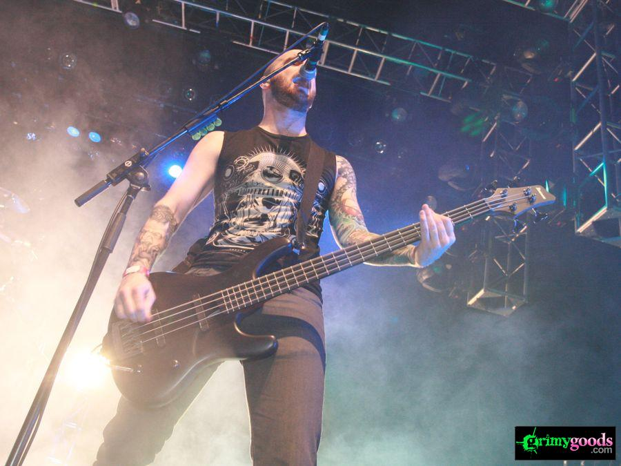 As I Lay Dying Photos at California Metal Fest V