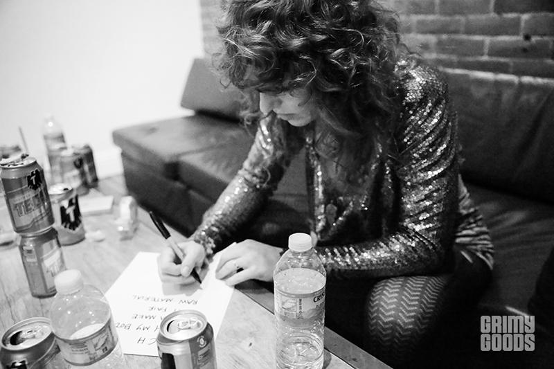 Backstage at The Glass House photo by Dominoe Farris-Gilbert