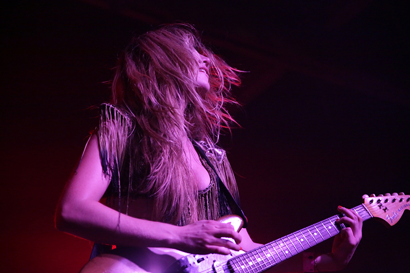 Deap Vally at The Glass House photo by Dominoe Farris-Gilbert
