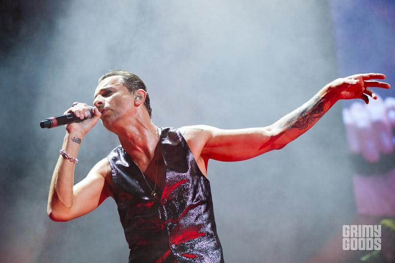 Depeche Mode live photos