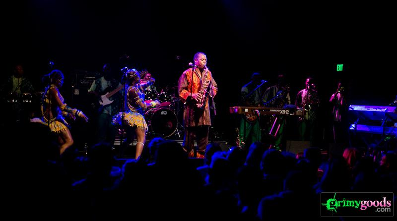 Femi kuti and the positive force photos el rey