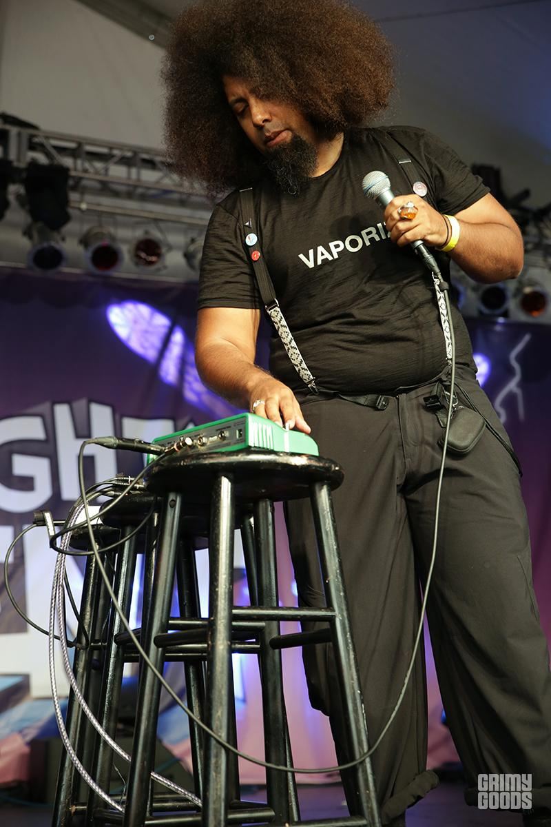 Reggie Watts at Festival Supreme photo by Dominoe Farris-Gilbert