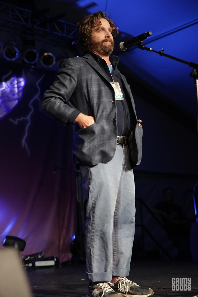 Zach Galifianakis at Festival Supreme photo by Dominoe Farris-Gilbert