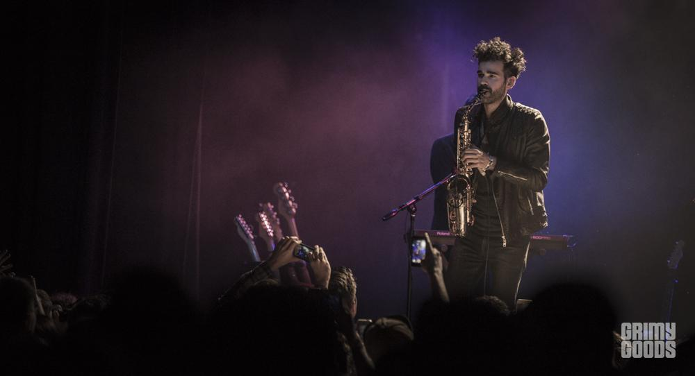Geographer at The El Rey, Los Angeles, California, photos by Wes Marsala
