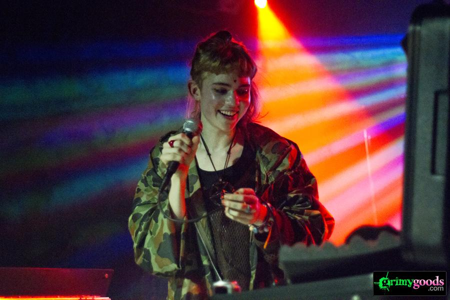Grimes at the Echo Photos Show Review Feb. 24, 2012