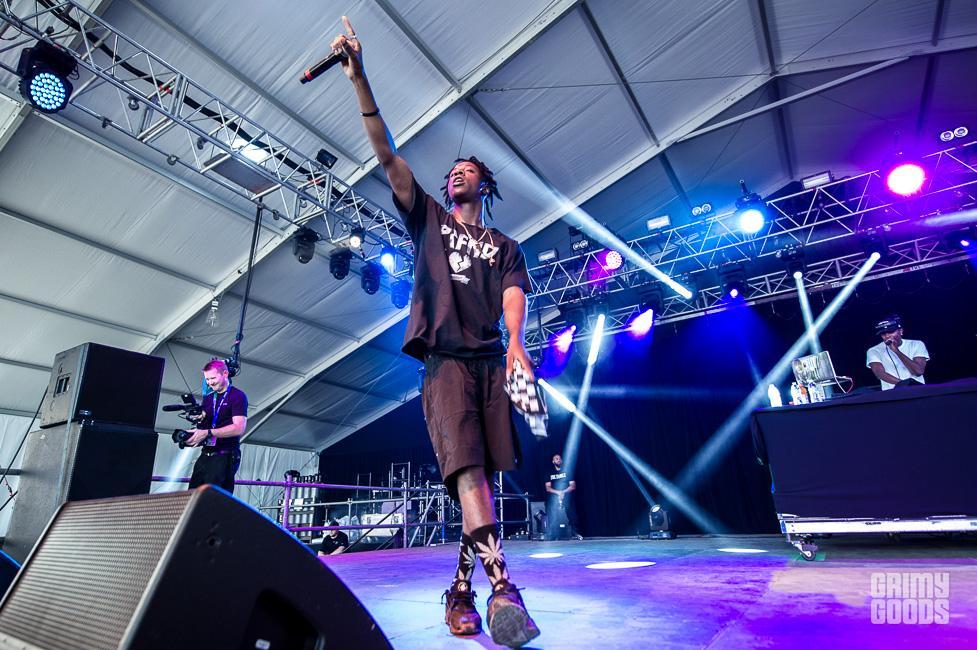 Joey Bada$$ hangout fest 2015
